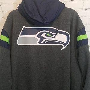 official photos d5975 5366e Seattle Seahawks reversible jacket NWT